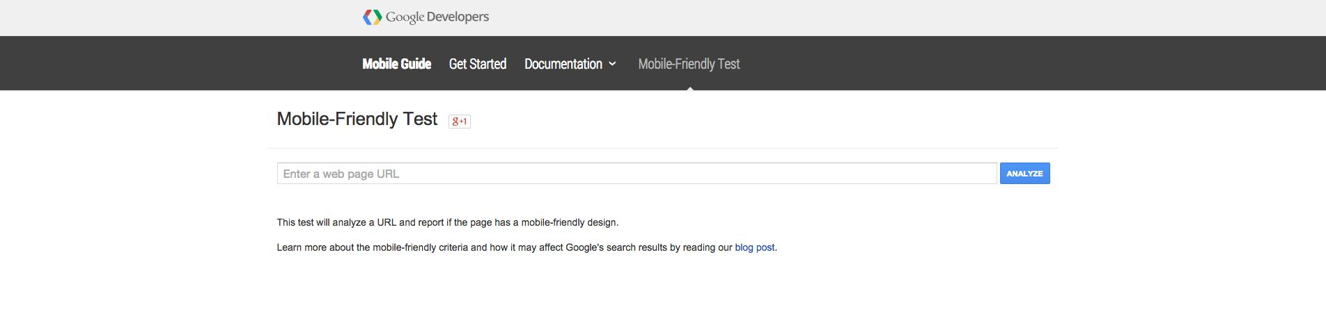 Mobile Usability Testing Tool - Google