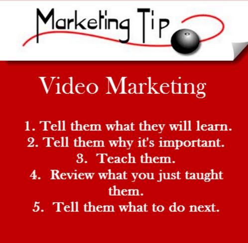 video marketing tip