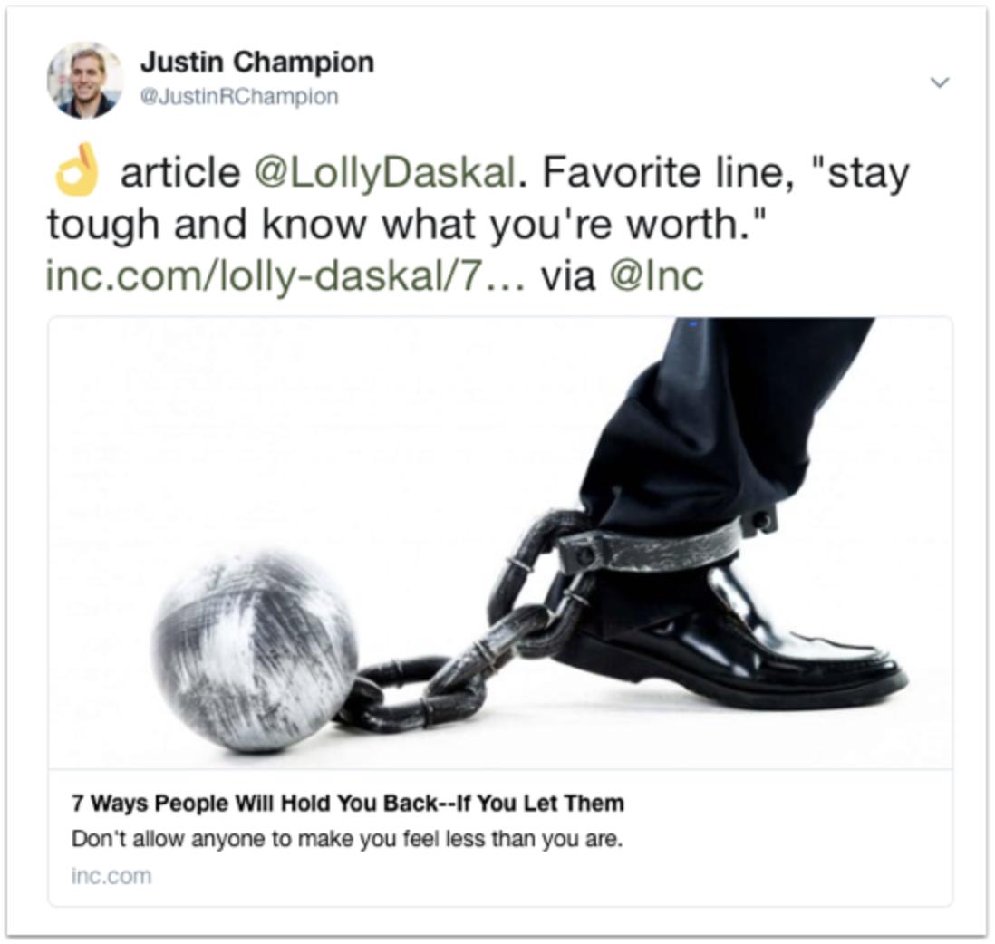 Twitter Conversation Engagement Example
