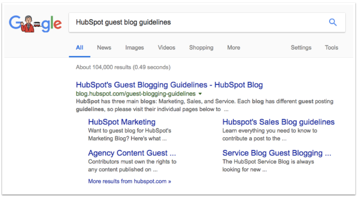 Use Google Search To Find Guest Blog Guidelines