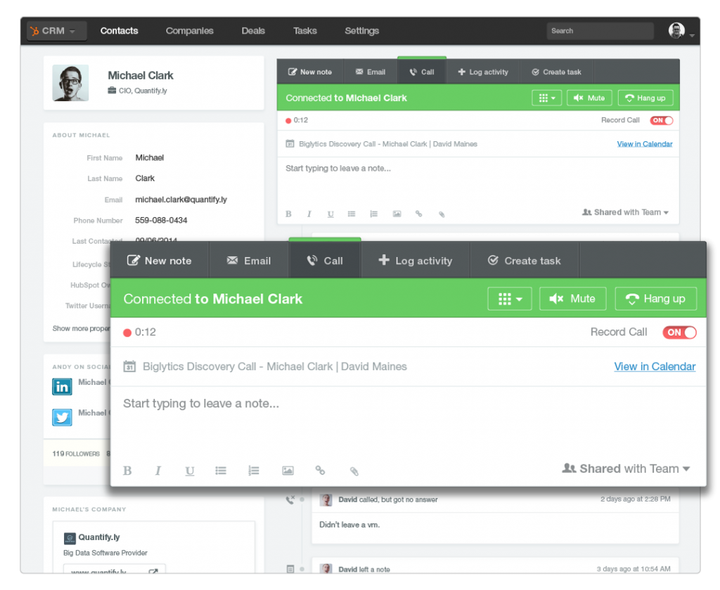 HubSpot-CRM-Call-Tracking